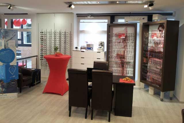 Augenoptiker Beratungsplatz